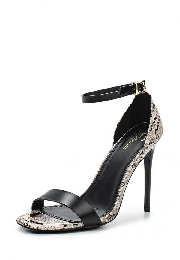 Туфли Spurr SMRAW15007 серые, чёрные