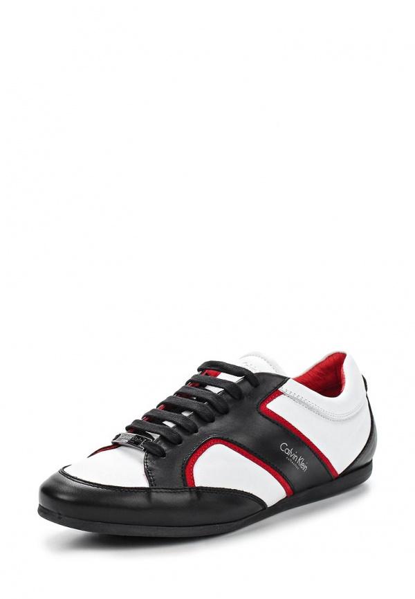 Кроссовки Calvin Klein Collection 5180 белые, чёрные