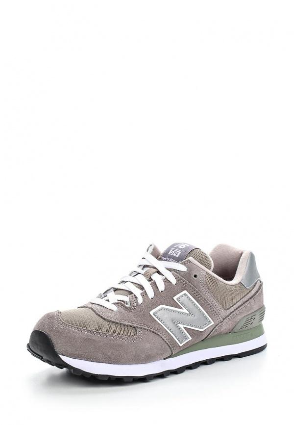 Кроссовки New Balance M574GS серые