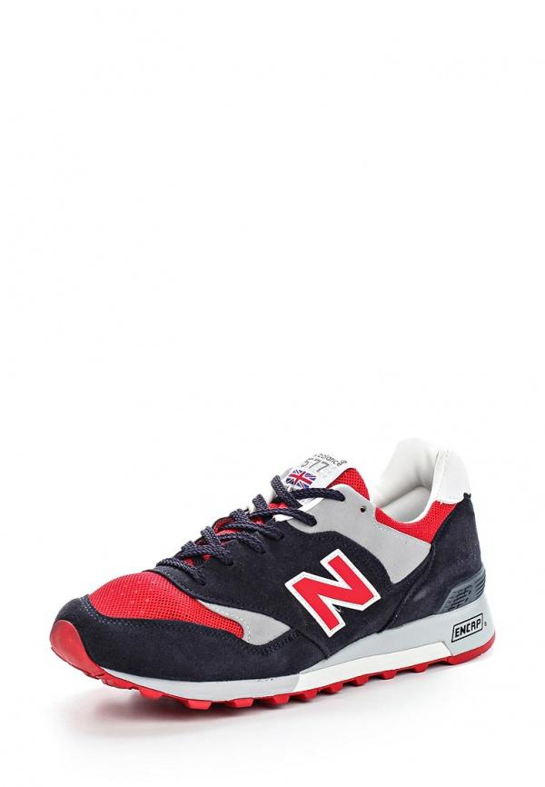 Кроссовки New Balance M577SMR красные, синие