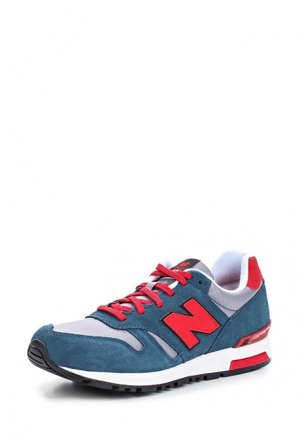 Кроссовки New Balance ML565SRS серые, синие