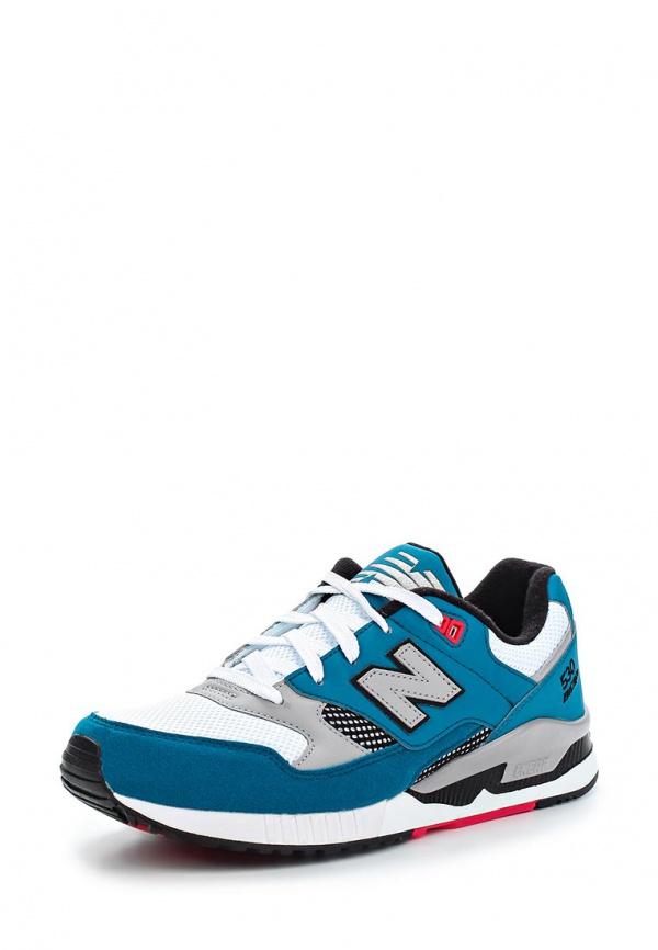 Кроссовки New Balance M530SBP белые, бирюзовые, синие