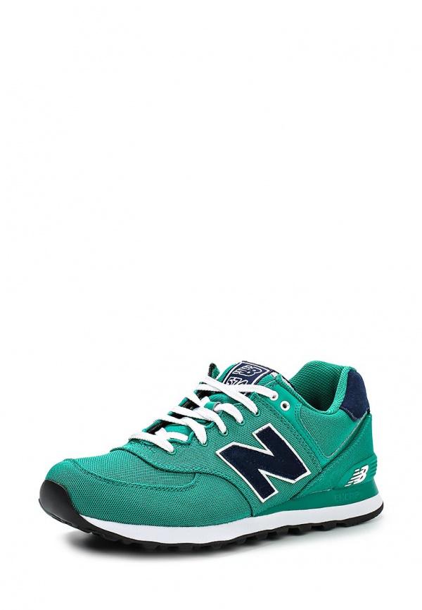 Кроссовки New Balance ML574POG зеленые