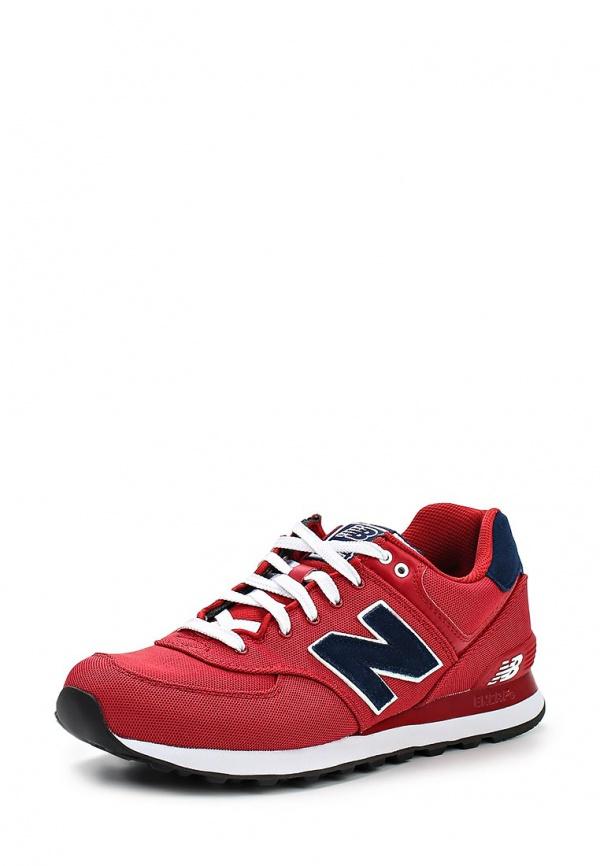 Кроссовки New Balance ML574POR красные