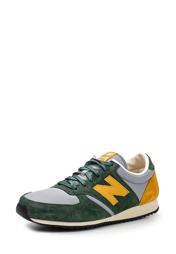 Кроссовки New Balance U420PRGY зеленые, серые