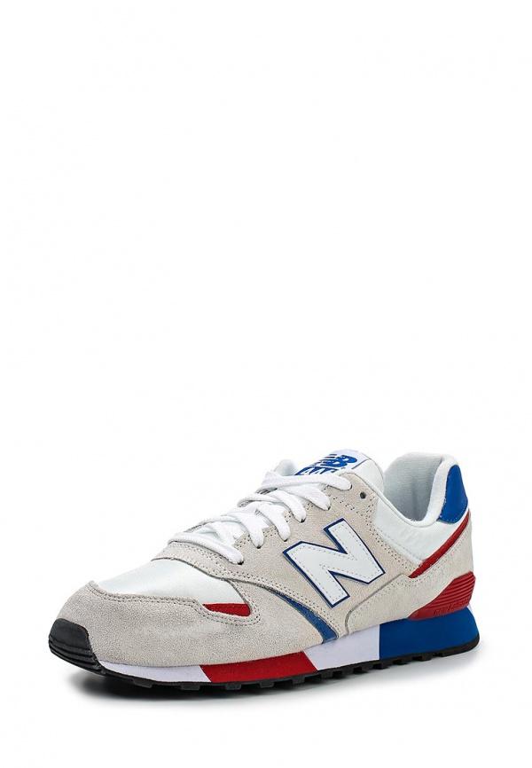 Кроссовки New Balance U446SMWB белые, красные, синие