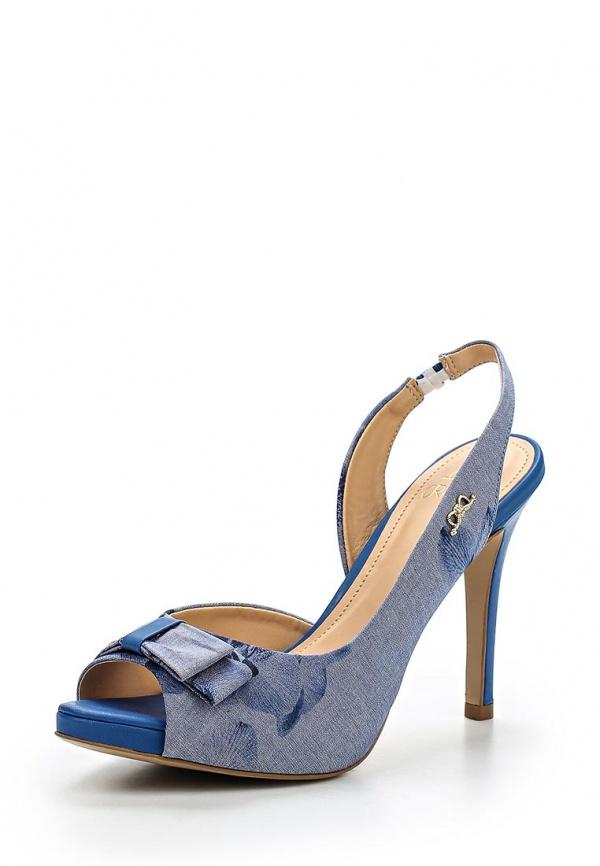 Босоножки Crislli 215116 голубые