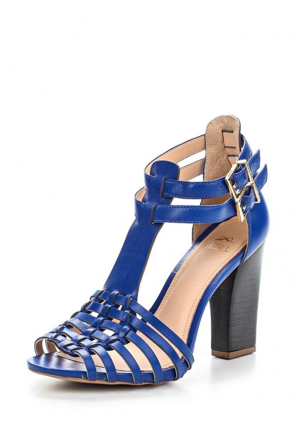 Босоножки Crislli 151128 синие