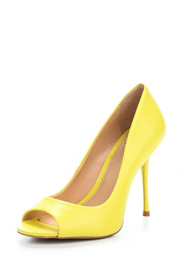 Туфли Crislli 151250 жёлтые