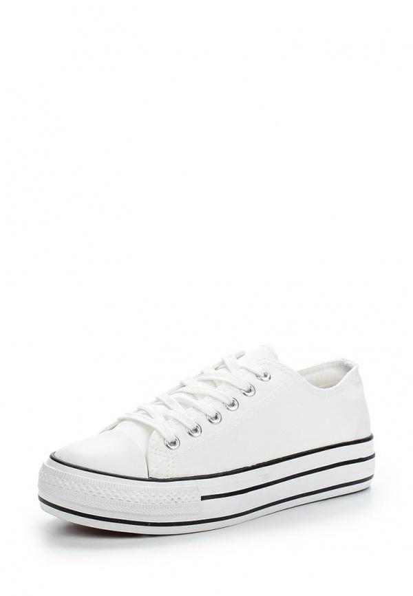 Кеды Ideal W2255 белые, чёрные
