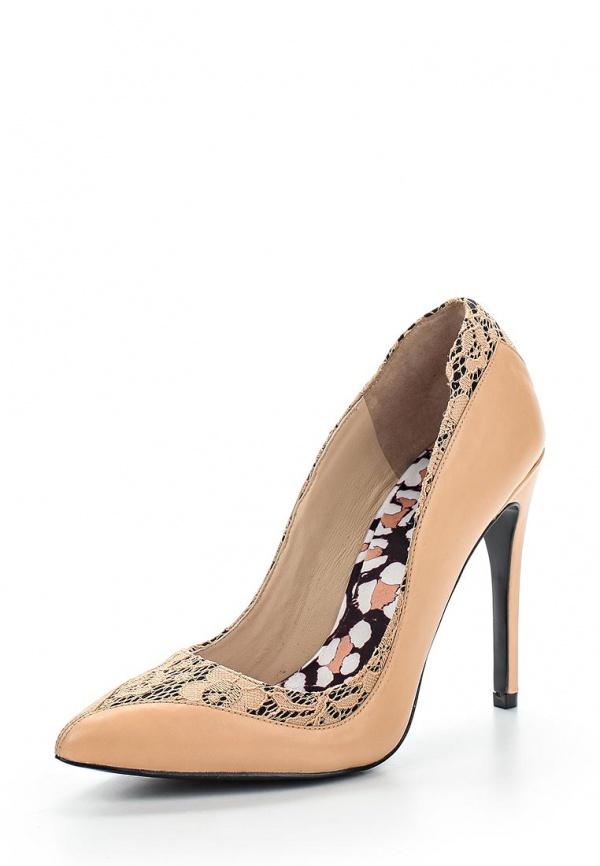 Туфли Just Cavalli S09WL0039N08033219 бежевые, чёрные