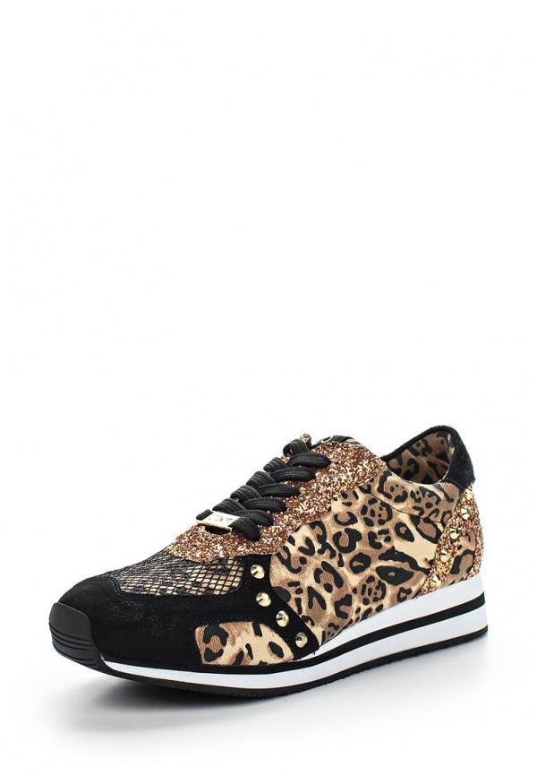 Кроссовки Liu Jo S15137T802309G21 коричневые, чёрные