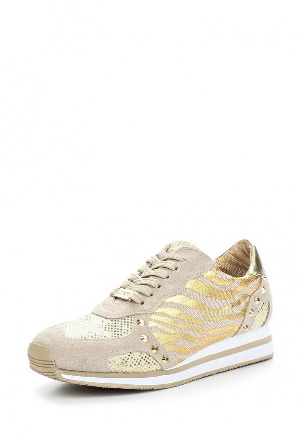 Кроссовки Liu Jo S15137T802400529 бежевые, золотистые