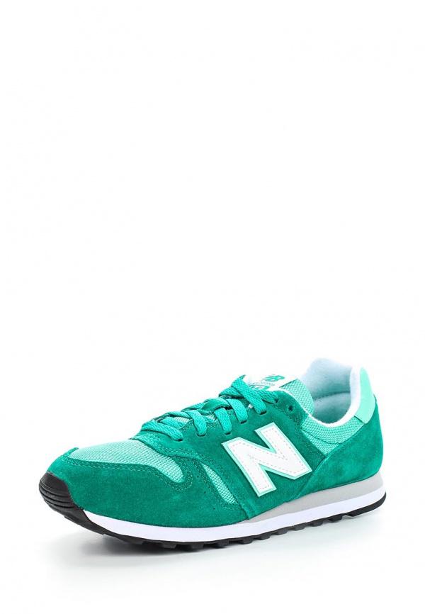Кроссовки New Balance WL373SMG зеленые