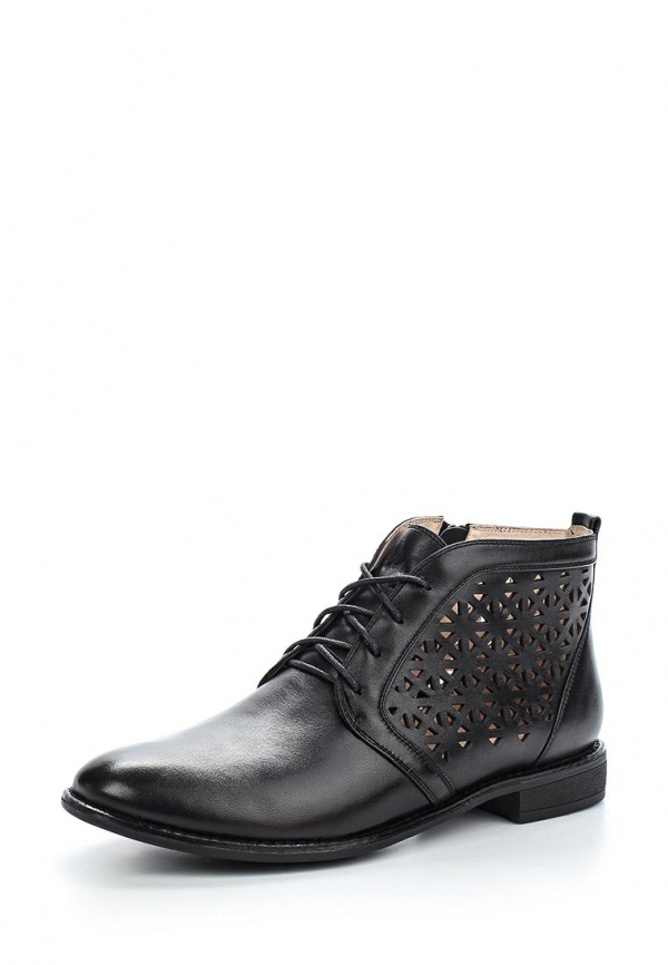 Ботинки Sinta 5448-65-227JFZ-M чёрные