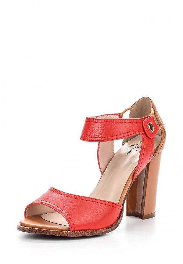 Босоножки Sinta 8715C-8BE-3-M коричневые, красные