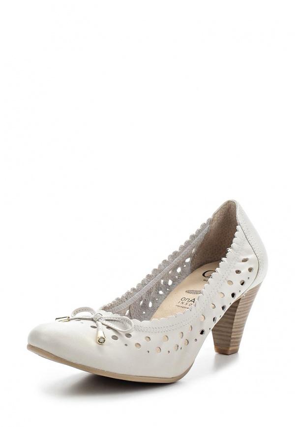Туфли Caprice 9-9-22502-24-109 молочный