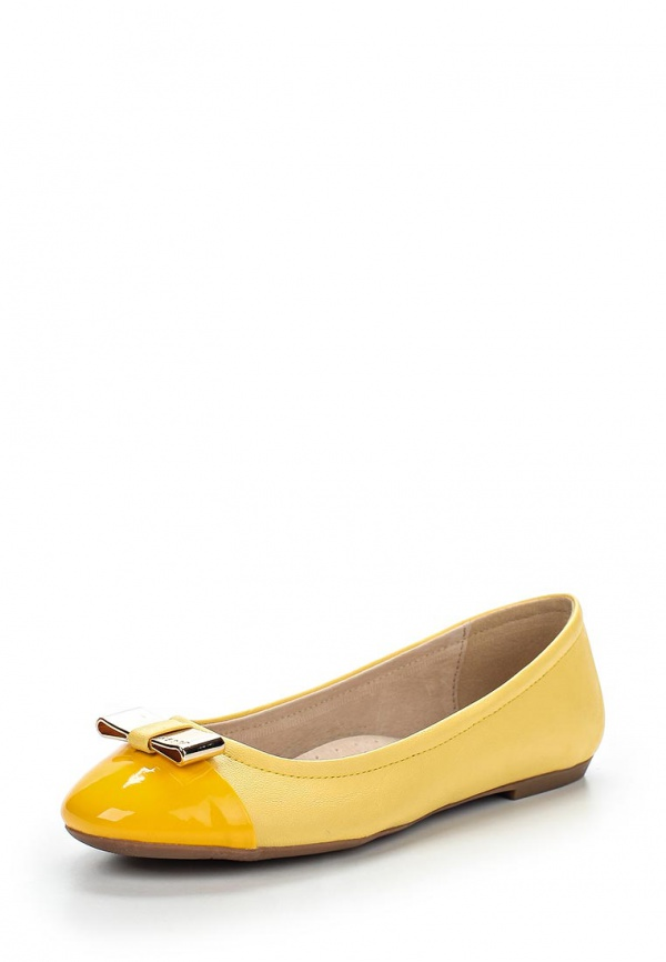 Балетки Keddo 557313/08-09K жёлтые
