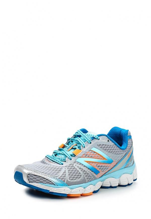 Кроссовки New Balance W880WO4 голубые, серые