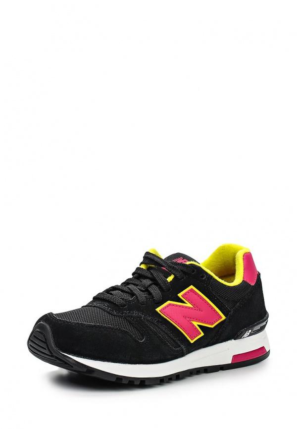 Кроссовки New Balance WL565SMY фуксия, чёрные