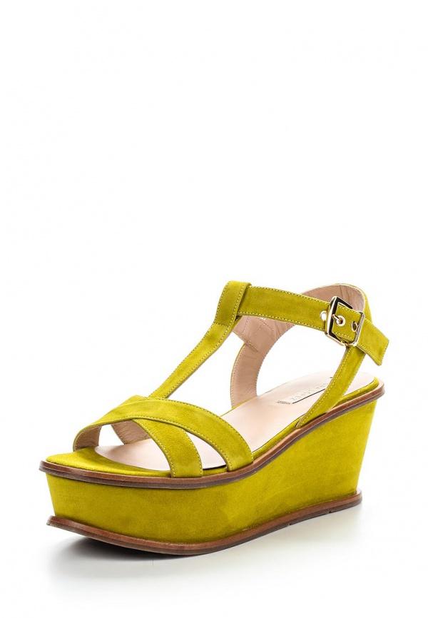 Босоножки Pura Lopez ZAAF591B жёлтые