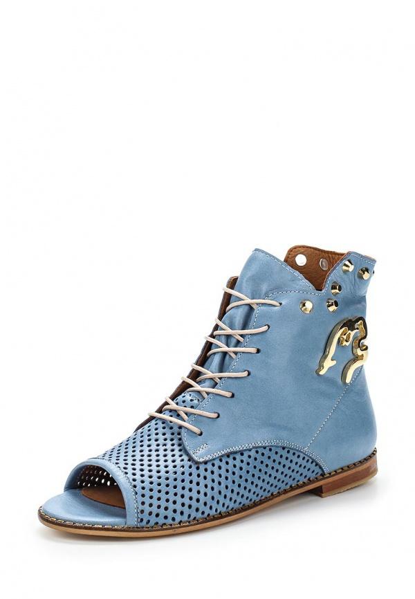 Ботинки Grand Style 14252 голубые