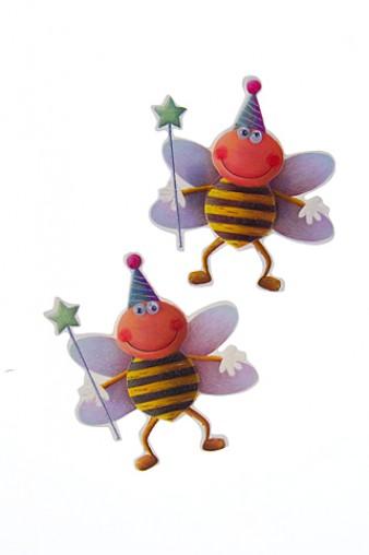 """Наклейки и аппликации Набор наклеек """"Пчелки-волшебники"""""""