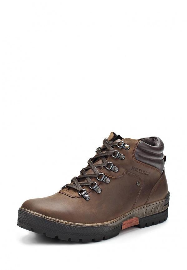 Ботинки iD active 648703/02-02M коричневые