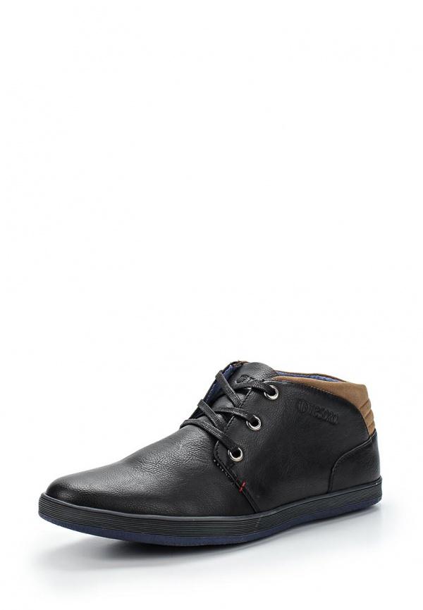 Ботинки Tesoro 157126/01-01 чёрные