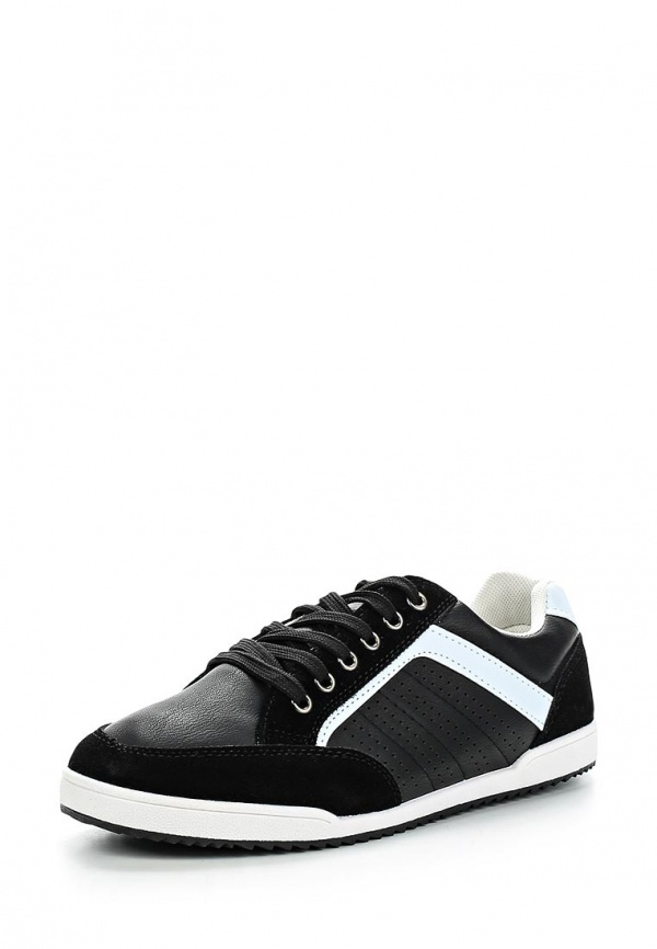 Кеды Ideal W2256 белые, чёрные