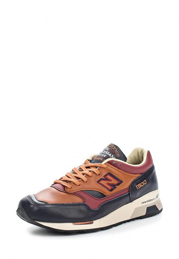 Кроссовки New Balance M1500GMN коричневые, синие