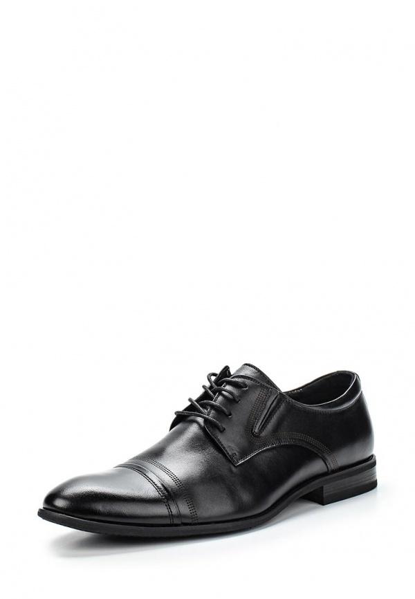 Туфли Zenden 98-24MV-001KK чёрные