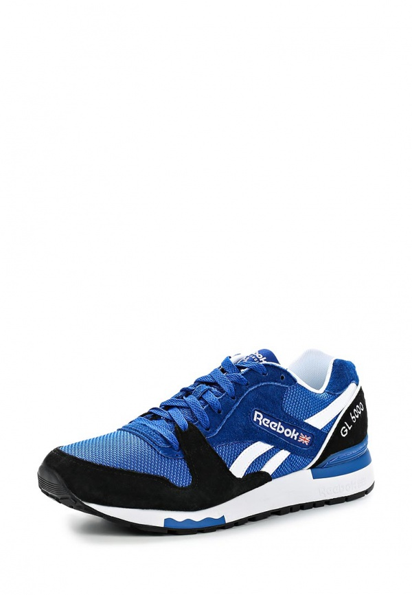 Кроссовки Reebok Classics M46405 синие, чёрные