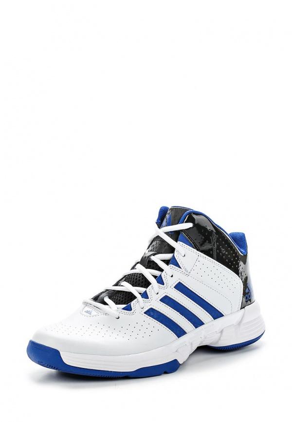 Кроссовки adidas Performance S83843 белые, синие, чёрные
