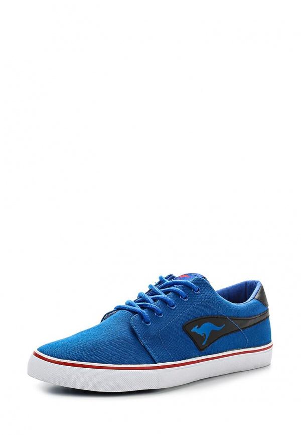 Кеды KangaROOS 7412B голубые