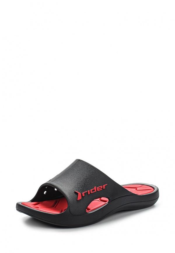 Сланцы Rider 81446-22502-B красные, чёрные