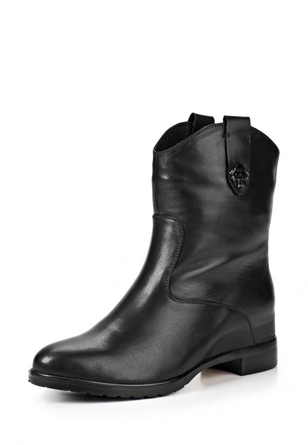 Полусапоги Elche YJ-W456021W чёрные