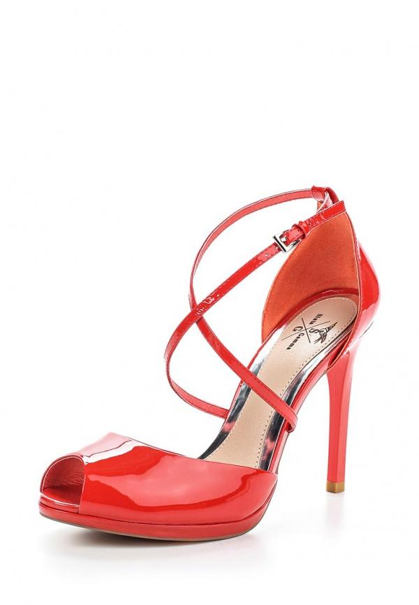 Туфли Sinta 3986-3901S-N1553PYT-M красные