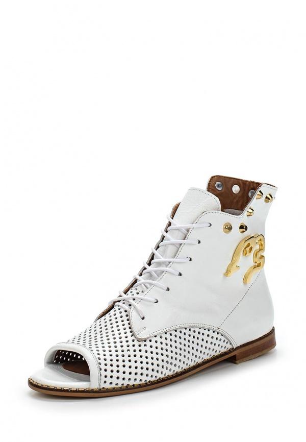 Ботинки Grand Style 14252 белые