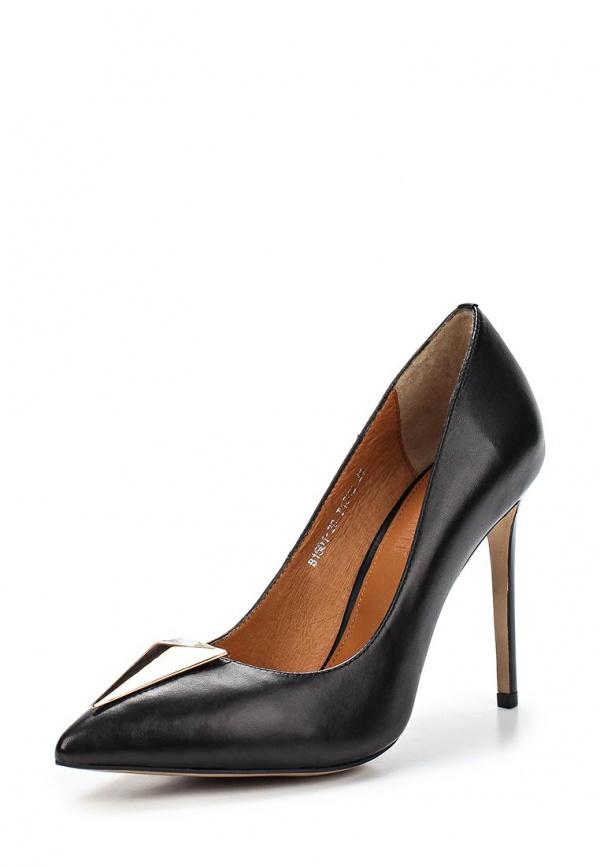Туфли Grand Style 1501-28/T1502 чёрные