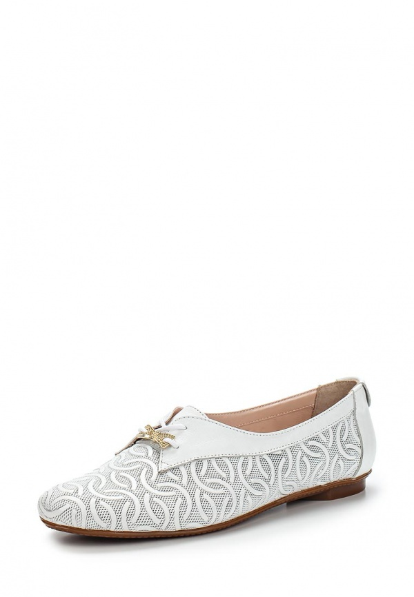 Ботинки Grand Style 283-07 белые