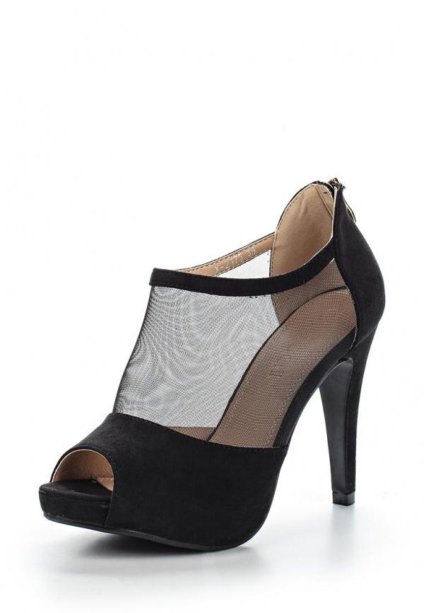 Туфли Ideal X2175 чёрные