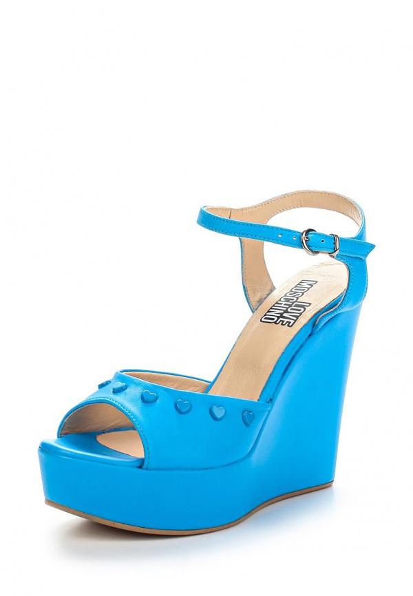 Босоножки Love Moschino JA1613CE0KJA0700 голубые