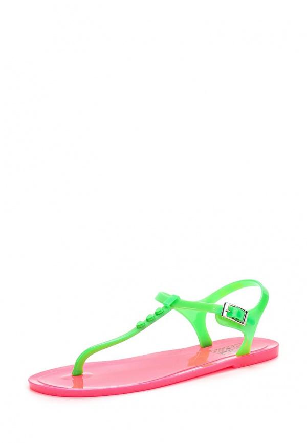 Сандалии Love Moschino JA16381G0KJN180A зеленые, розовые