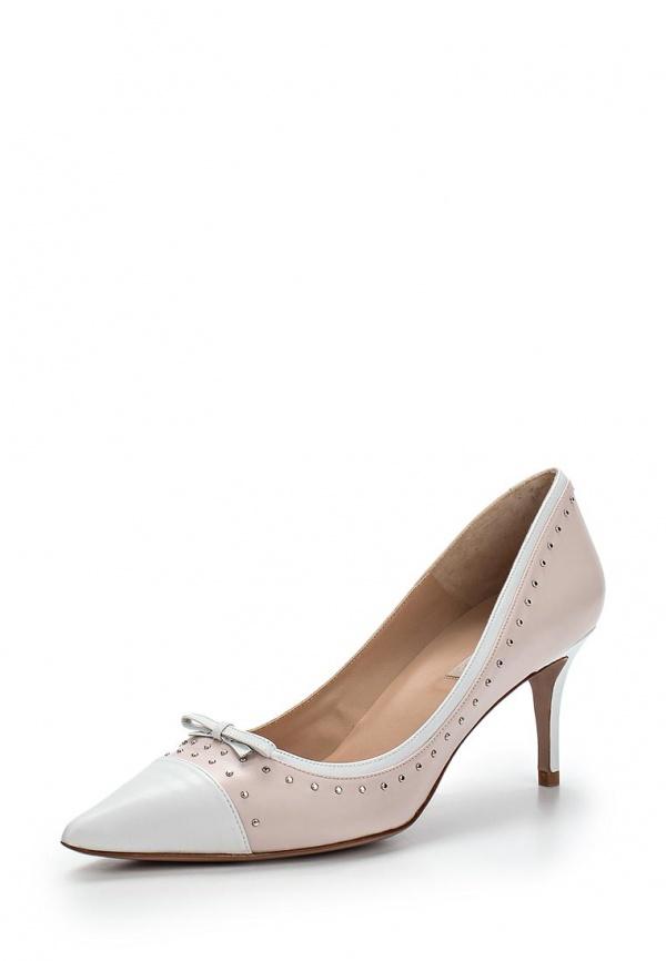 Туфли Pura Lopez ZAAF207 белые, розовые