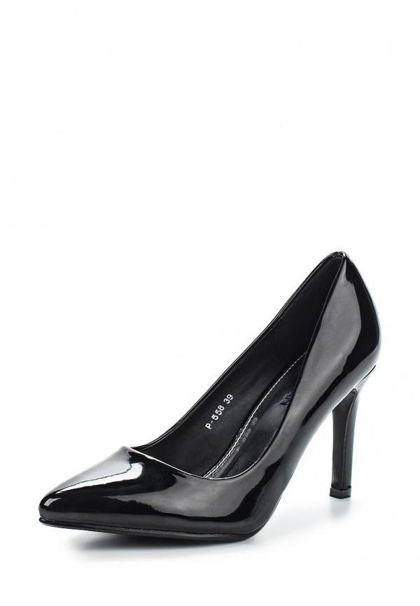 Туфли Stephan P558 чёрные