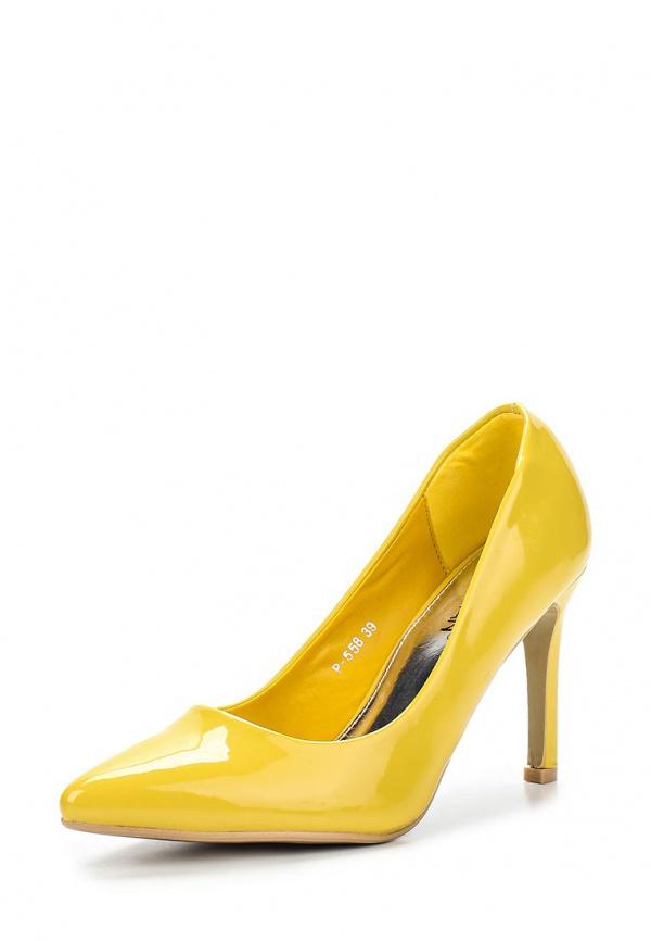 Туфли Stephan P558 жёлтые