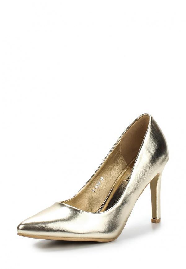 Туфли Stephan P558 золотистые