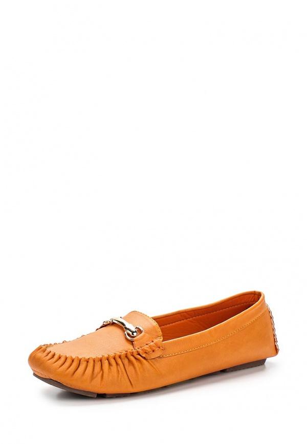 Мокасины Stephan 66-24 оранжевые