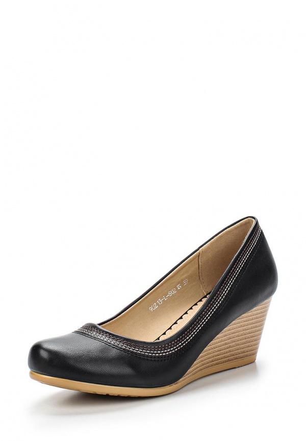 Туфли Zenden 90Z13-L-S021S чёрные